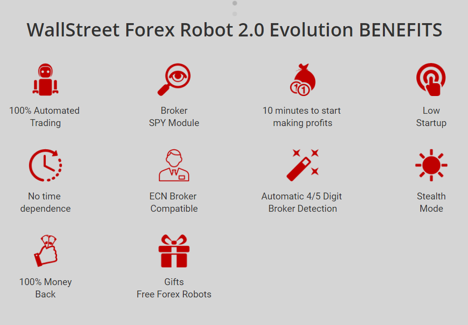 Wallstreet Forex Robot 2.0 Evolutionのキャプチャ画像