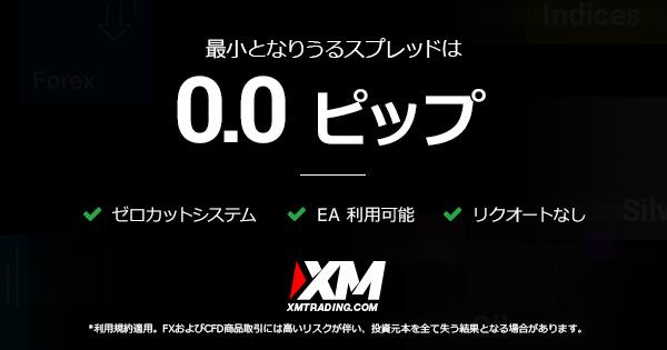 XMの広告バナー