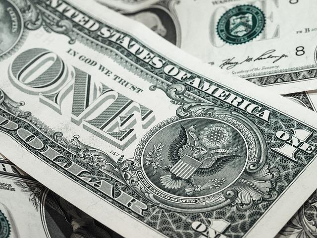 1ドル札の画像