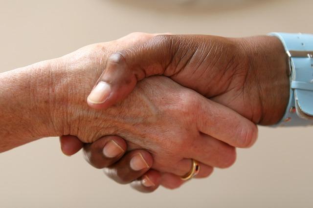 握手のイメージ画像