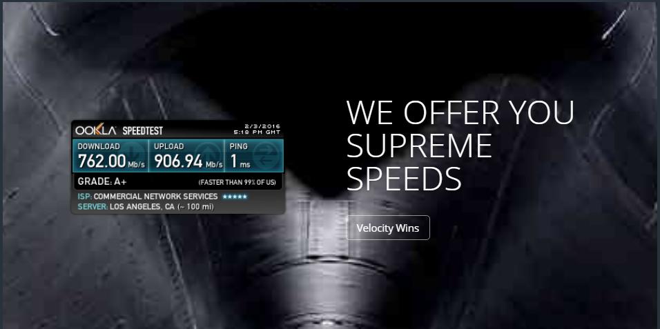 CNS公式サイトのキャプチャ画像
