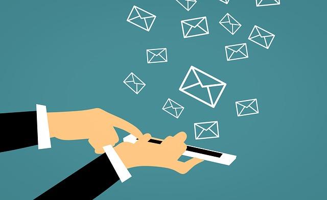 メール送信のイメージ画像