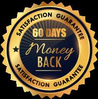 60日間無条件返金保証のロゴ