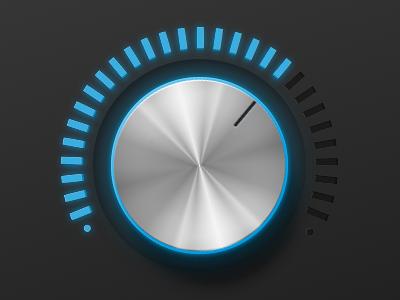 音量調節ダイヤルのイメージ画像