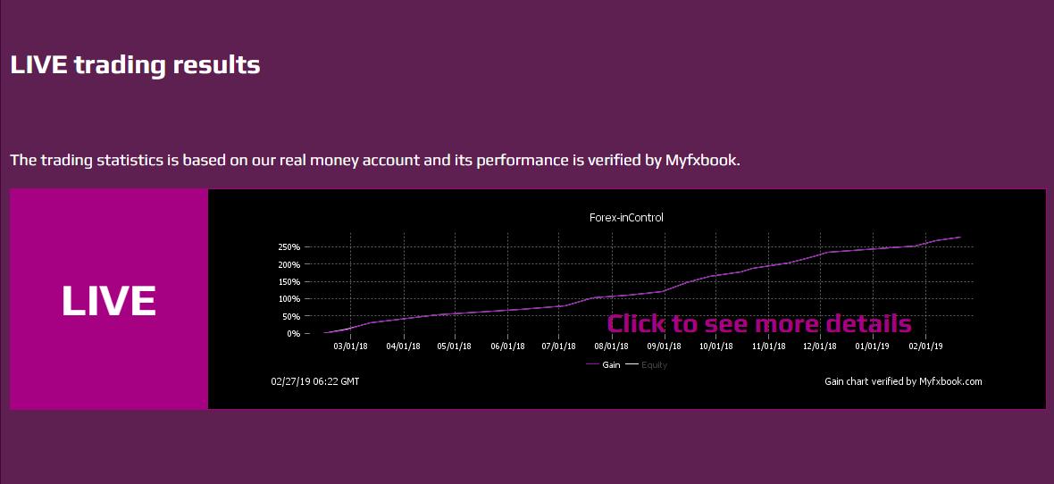 Forex inControl Reborn公式サイトのキャプチャ画像