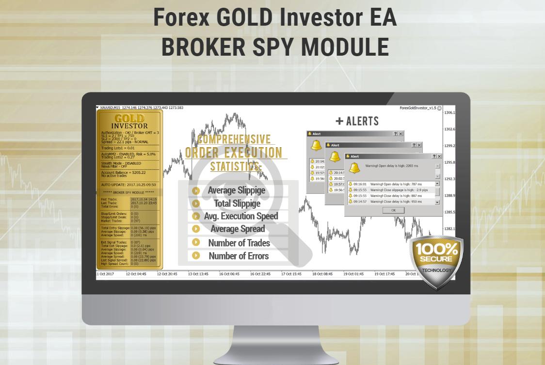 Forex GOLD Investor公式サイトのキャプチャ画像